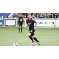 Midfielder Richie Ryan with FC Cincinnati
