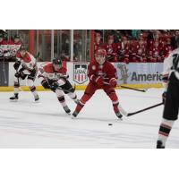 Dubuque Fighting Saints vs. the Waterloo Black Hawks