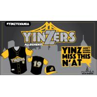 Allegheny Yinzers logo and jerseys