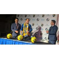 San Diego Sockers introduce Landon Donovan