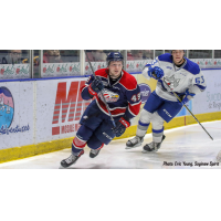 Saginaw Spirit right wing Cole Coskey