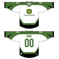 Waterloo Black Hawks John Deere jerseys