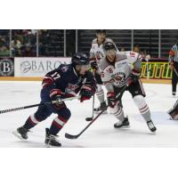 Macon Mayhem center John Siemer vs. the Huntsville Havoc