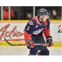 Windsor Spitfires defenceman Grayson Ladd