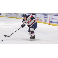 Saginaw Spirit center Camaryn Baber