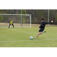 South Georgia Tormenta FC in training