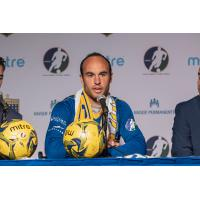 Landon Donovan of the San Diego Sockers