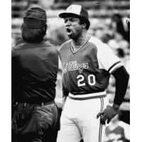 Rochester Red Wings Manager Frank Robinson