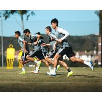 Seattle Sounders FC at preseason camp in Tucson
