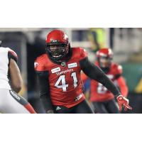 Calgary Stampeders defensive lineman Cordarro Law