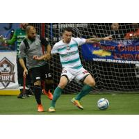 Ontario Fury defender Thiago Goncalves (right)