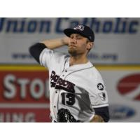 Somerset Patriots pitcher Nate Roe