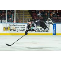 Vancouver Giants defenceman Bowen Byram defies gravity