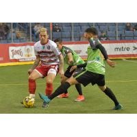 Ontario Fury navigate through the El Paso Coyotes defense