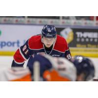 Saginaw Spirit left wing Cole Perfetti