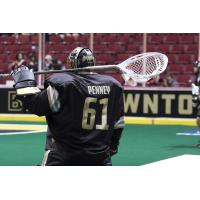 Vancouver Warriors goalie Eric Penney