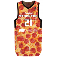 Stockton Kings pizza jersey