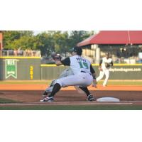 Joey Votto playing for the Dayton Dragons