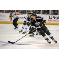 Forward Sam Kurker with the Manchester Monarchs