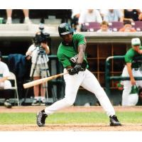 Wily Mo Pena with the Dayton Dragons
