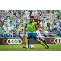 Lamar Neagle with Seattle Sounders FC