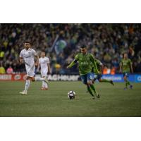 Vi­ctor Rodriguez of Seattle Sounders FC recorded two assists and a league-high eight shots in last Saturday's season-opening 4-1 win over FC Cincinnati