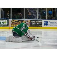 Florida Everblades goaltender Callum Booth