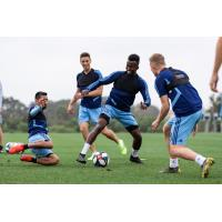 Defender Abdi Mohamed with New York City FC