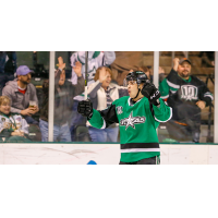 Texas Stars celebrate a goal against the San Antonio Rampage