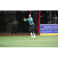 Ontario Fury goalkeeper Chris Toth