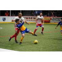Ontario Fury battle the San Diego Sockers