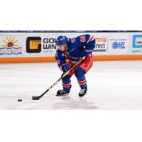 Greg Meireles of the Kitchener Rangers