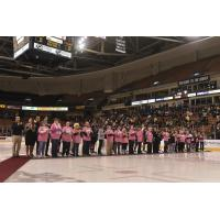 Manchester Monarchs' Pink in the Rink event