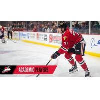 Cross Hanas of the Portland Winterhawks