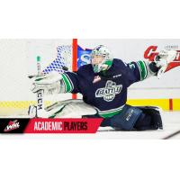 Seattle Thunderbirds goaltender Cole Schwebius