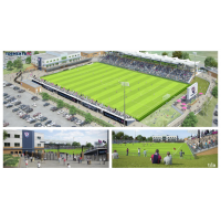 South Georgia Tormenta FC soccer stadium renderings