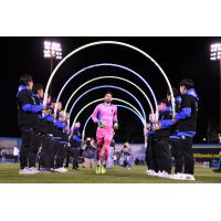 Las Vegas Lights FC goalkeeper Thomas Olsen