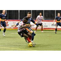 Israel Sesay of the Ontario Fury vs. the Tacoma Stars