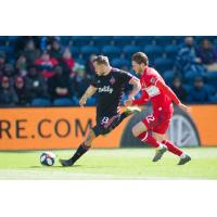 Jordan Morris of Seattle Sounders FC recorded a goal and assist in Saturday's 4-2 win at the Chicago Fire