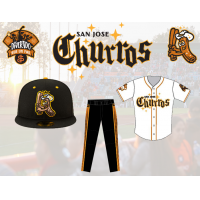 San Jose Churros logo and uniforms