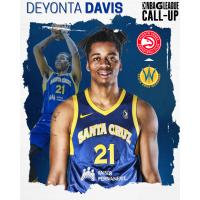 Santa Cruz Warriors center Deyonta Davis
