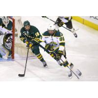 Forward Nicolas Erb-Ekholm with the University of Alaska-Anchorage
