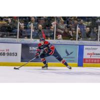 Saginaw Spirit right wing Owen Tippett