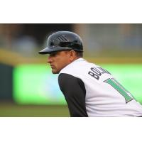 Luis Bolivar with the Dayton Dragons