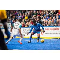 Kansas City Comets control possession vs. the St. Louis Ambush