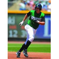 Jay Bruce with the Dayton Dragons