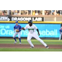 Taylor Trammell of the Dayton Dragons