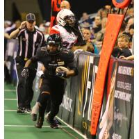 Dezmon Epps of the Arizona Rattlers vs. the Sioux Falls Storm