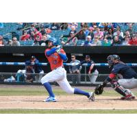 David Thompson knocked in three runs in Sunday afternoon's Syracuse Mets win