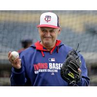 Former Minnesota Twins pitcher Terry Steinbach